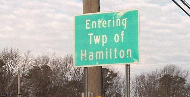 Hamilton Township Sign