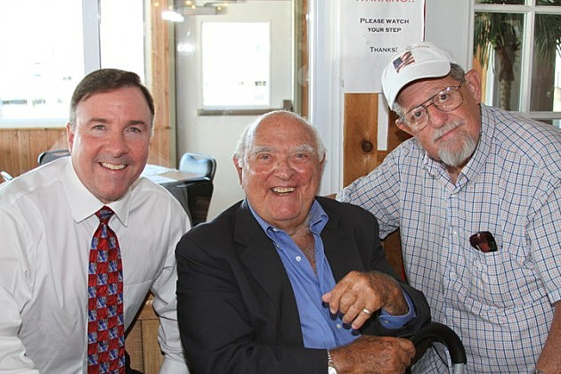 Harry Hurley (left), Ed Hurst (center), and Champ Hoffman (right) - Photo: Don P. Hurley