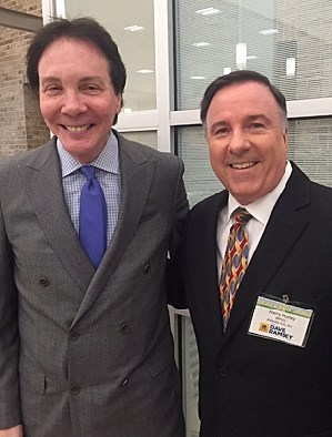 Harry Hurley with Alan Colmes - Photo: Harry Hurley