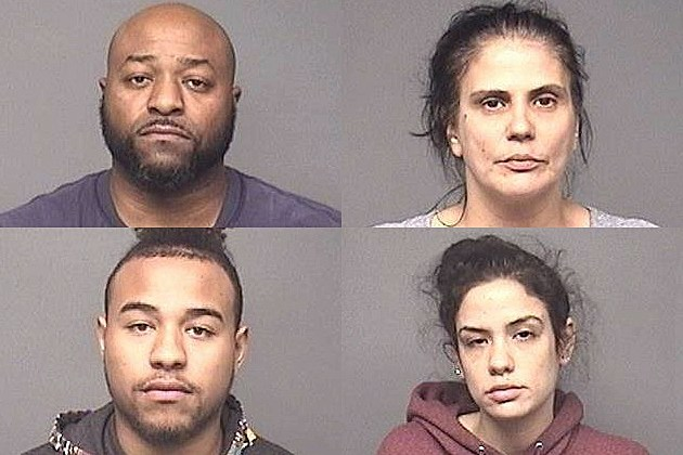 4 arrested for allegedly operating marijuana production facility in EHT - Photo: Egg Harbor Township Police Department