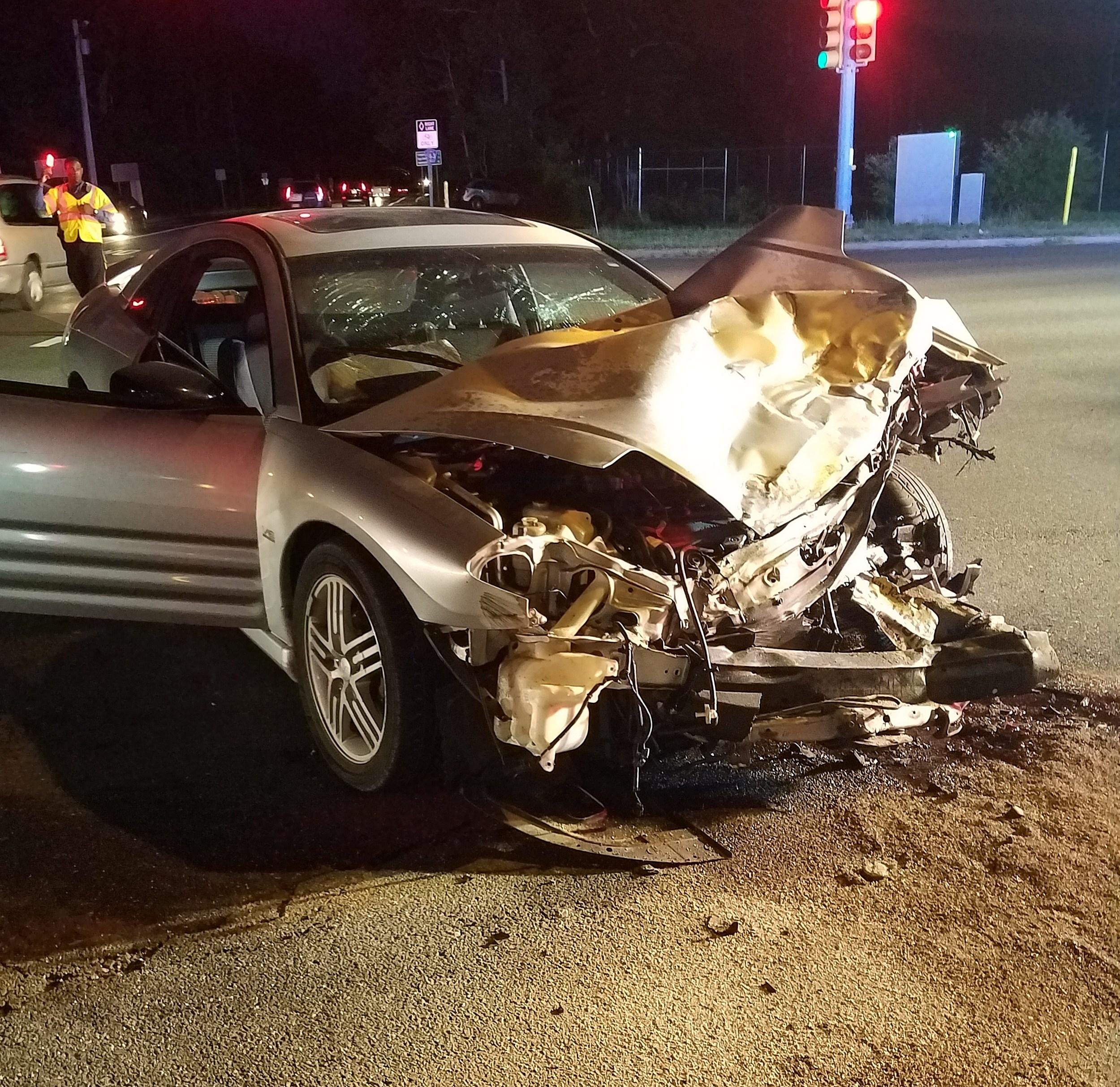 Teenager Seriously Injured in Hamilton Township Crash